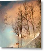The Movement Of Ice Metal Print