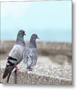 The Mr And Mrs Metal Print