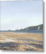 The Mumbles   Swansea Metal Print