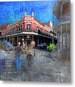 The Muriel's Of Jackson Square  Metal Print