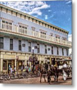 The Murray Hotel At Mackinac Island Metal Print