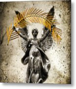 The Muse Metal Print
