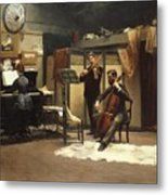 The Musicale, Metal Print
