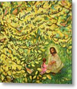 The Mustard Seed Metal Print