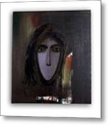 The Muted Woman Metal Print