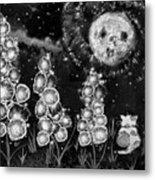 The Mysterious Garden Metal Print