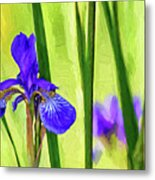 The Mystery Of Spring - Paint Metal Print