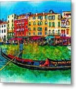The Mystique Of Italy Metal Print