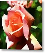 The Name Of A Rose Is Beauty Metal Print