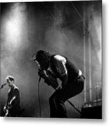 The National Performing At Hyde Park London Metal Print