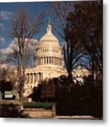 The Nation's Capitol Metal Print