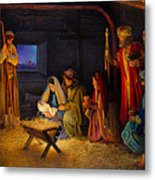 The Nativity Metal Print