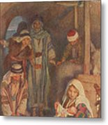 The Nativity Metal Print