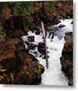 The Natural Bridge Gorge Metal Print