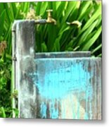 The Neighborhood Water Pipe Metal Print