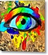 The New Eye Of Horus Metal Print