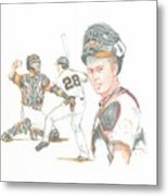 The New Natural Buster Posey Metal Print
