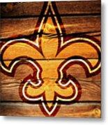 The New Orleans Saints 3b Metal Print