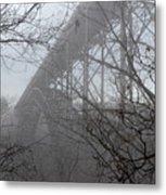 The New River Gorge Bridge Metal Print