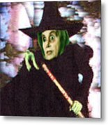The New Wicked Witch Of The West Metal Print