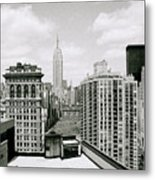 The New York Skyline Metal Print