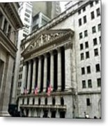 The New York Stock Exchange Metal Print