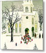 The New Yorker Cover - December 18th, 1948 Metal Print