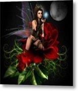 The Night Fairy Metal Print
