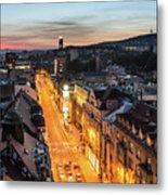 The Nights Of Sarajevo Metal Print