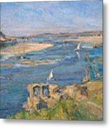 The Nile Near Aswan Metal Print