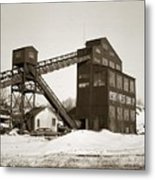 The Northwest Coal Company Breaker Eynon Pennsylvania 1971 Metal Print