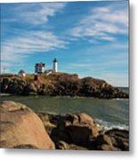 The Nubble 2 Metal Print
