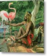 The Nubian Metal Print by Georgio Marcelli