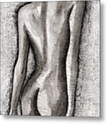 The Nude Number One Metal Print