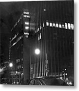 The Ny Daily News Building Metal Print