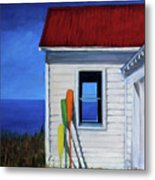 The Oars Metal Print