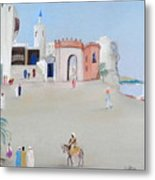 The Oasis North Africa Metal Print
