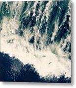 The Ocean Roars Metal Print