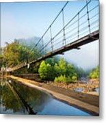 The Ocoee River Dam Metal Print