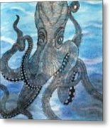 The Octopus 3 Metal Print