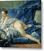 The Odalisque Metal Print by Francois Boucher