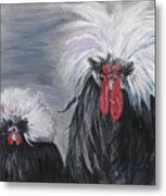 The Odd Couple Metal Print by Nadine Rippelmeyer
