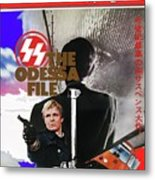 The Odessa File Jon Voight Foreign Theatrical Poster 1974 Color Added 2016 Metal Print