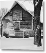 The Old Barn Metal Print by Julie Lueders