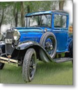 The Old Blue One 2 Metal Print