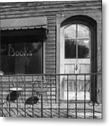 The Old Book Store Metal Print