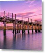 The Old Bridge at Sunset Metal Print