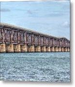 The Old Camelback Bridge Metal Print