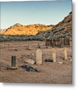 The Old Cemetary Metal Print