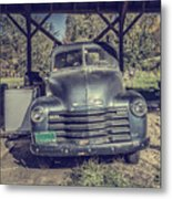 The Old Chevy Vermont Metal Print